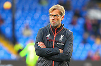 Liverpool Manager Jurgen Klopp during the EPL - Premier League match between Crystal Palace and Liverpool at Selhurst Park, London, England on 29 October 2016. Photo by Steve McCarthy.