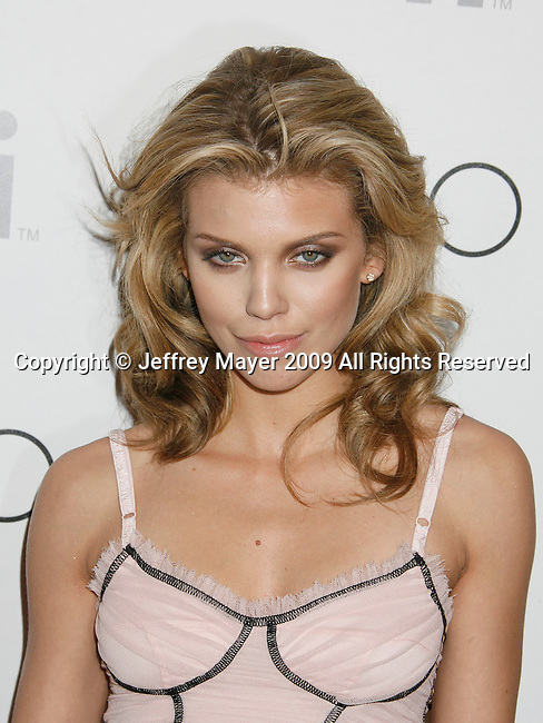 WEST HOLLYWOOD, CA. - March 21: AnnaLynne McCord arrives at the Season Wrap party of Beverly Hills 90210 at Coco De Ville on March 21, 2009 in West Hollywood, California.