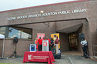 Barbara Bush Houston Literacy Foundation partners with Grooming for Literacy to provide Little Free Libraries in barber shops to promote youth reading and literacy.