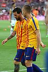 52e Trofeu Joan Gamper.<br /> FC Barcelona vs Chapecoense: 5-0.<br /> Lionel Messi &amp; Gerard Deulofeu.