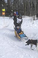 William Kleedehn Anchorage Start Iditarod 2008.