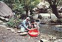 Iran 1979.Headquarters of KDPI near the Iraqi border: Peshmergas preparing the food