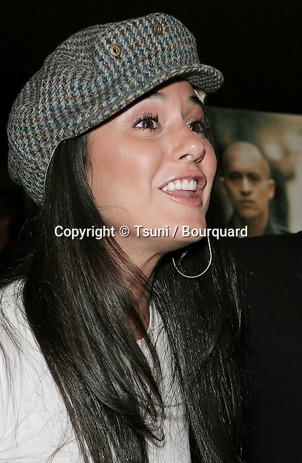 Emmanuelle Chriqui arriving at the Dirty Premiere at the Writer Guild In Los Angeles. February 22, 2006.