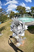Trish Clarke, Beautiful Weed, Shapeshifter 2014, Civic Gardens, Lower Hutt, Wellington, New Zealand on Sunday 2 March2014.<br /> Photo by Masanori Udagawa.<br /> www.photowellington.photoshelter.com.