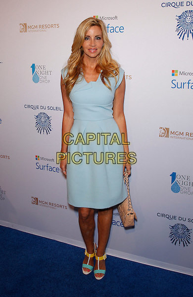20 March 2015 - Las Vegas, NV -   Camille Grammar.  One Night For One Drop Blue Carpet at The Mirage Hotel and Casino.<br /> CAP/ADM/MJT<br /> &copy; MJT/AdMedia/Capital Pictures