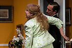 "Estrella Blanco and Alex Cueva at ""Usted puede ser un asesino"" Theater play in Muñoz Seca Theater, Madrid, Spain, September 07, 2015. <br /> (ALTERPHOTOS/BorjaB.Hojas)"