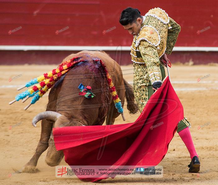 Feria de Fallas 2017.<br /> Corrida de Toros.<br /> El Juli - Talavante - Lopez Simon.<br /> Toros de Garcigrande y Domingo Hernandez.<br /> Valencia, Valencia (Spain).<br /> 19 de marzo de 2017.