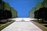 Salk Institute, La Jolla, California.<br /> Designed by Louis Kahn.