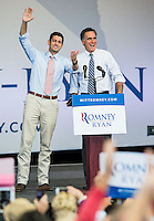 Mitt Romney and Paul Ryan Campaign