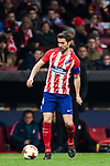 Gabriel Fernandez Arenas, Gabi, of Atletico de Madrid in action during the UEFA Europa League 2017-18 Round of 32 (2nd leg) match between Atletico de Madrid and FC Copenhague at Wanda Metropolitano  on February 22 2018 in Madrid, Spain. Photo by Diego Souto / Power Sport Images