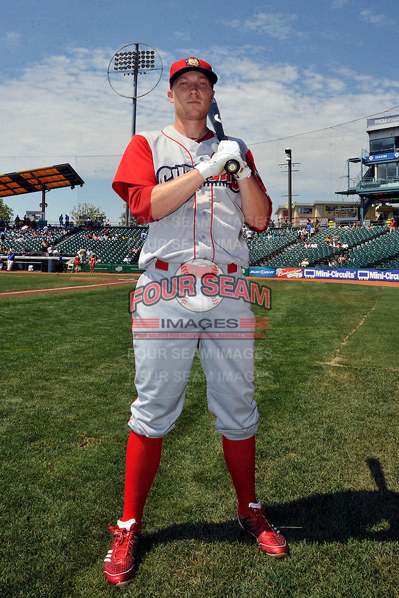 Williamsport Crosscutters second baseman Cody Asche (19) prior to game against the Brooklyn Cyclones at MCU Park on August 3, 2011 in Brooklyn, NY.  Brooklyn defeated Williamsport 3-2.  Tomasso DeRosa/Four Seam Images