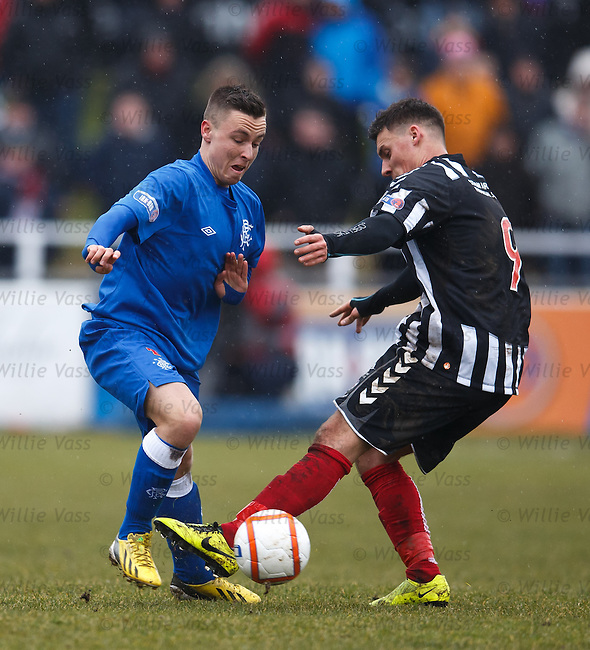 Barrie McKay and Stuart Leslie