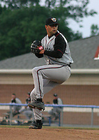 June 27, 2003:  Matt Bimeal of the Williamsport Crosscutters during a game at Dwyer Stadium in Batavia, New York.  Photo by:  Mike Janes/Four Seam Images