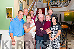 Michelle and James Arthur from Killarney celebrated christening of their son Garry surrounded by friends and family in the Dromhall Hotel, Killarney last Saturday.