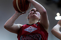 Canterbury's Connie Poletti in action during the 2018 Women's Basketball League match between Canterbury Wildcats and Taranaki Thunder at Cowles Stadium in Christchurch, New Zealand on Sunday, 24 June 2018. Photo: Dave Lintott / lintottphoto.co.nz