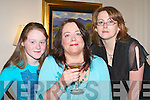 LUNCHEON: Pampering themselves at the luncheon in the Killarney Park Hotel on Saturday were L/R: Marion OShea and Vivian OShea, Killarney, and Therese Dore, Abbeyfeale..