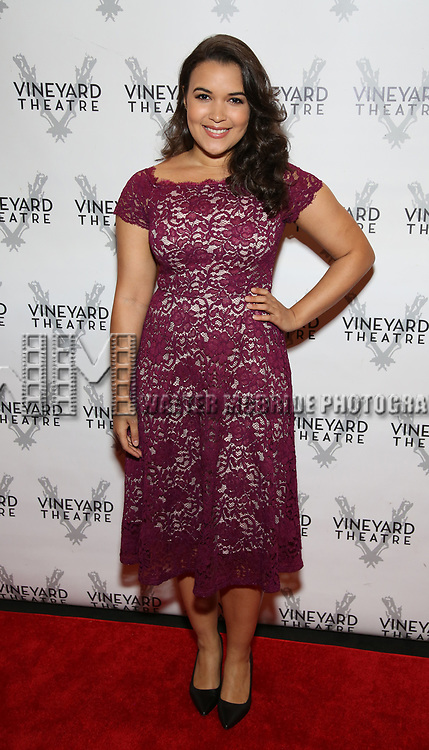 Mikaela Bennett attends the Vineyard Theatre Gala 2018 honoring Michael Mayer at the Edison Ballroom on May 14, 2018 in New York City.
