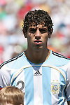 22 July 2007: Argentina's Federico Fazio. At the National Soccer Stadium, also known as BMO Field, in Toronto, Ontario, Canada. Argentina's Under-20 Men's National Team defeated the Czech Republic's Under-20 Men's National Team 2-1 in the championship match of the FIFA U-20 World Cup Canada 2007 tournament.