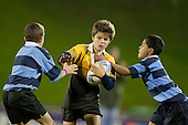 Counties Manukau Primary Schools Caretakers Cup rugby game between Hill Primary School and Bombay Primary School played at Bayer Growers Stadium, Pukekohe on Thursday September 2nd 2010. Bombay were this winners.