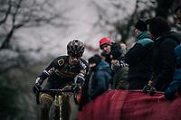 Lars van der Haar (NED/Telenet Fidea Lions)<br /> <br /> Elite Men's race<br /> UCI CX World Cup Namur / Belgium 2017