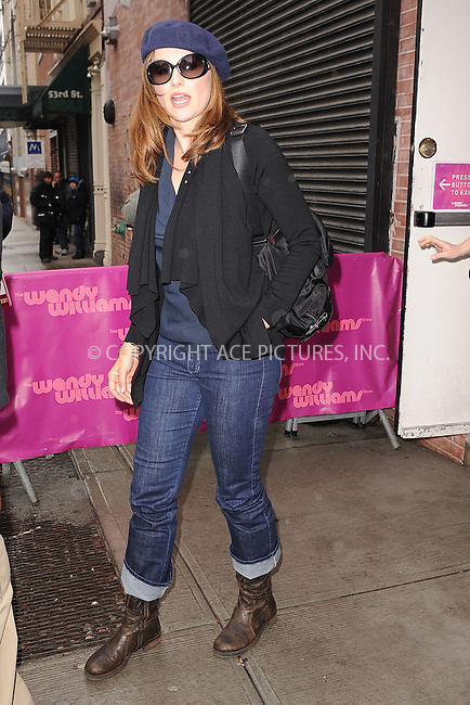 WWW.ACEPIXS.COM . . . . . .January 19, 2011...New York City... Lucy Lawless visits the Wendy Williams Show on January 19, 2011 in New York City....Please byline: KRISTIN CALLAHAN - ACEPIXS.COM.. . . . . . ..Ace Pictures, Inc: ..tel: (212) 243 8787 or (646) 769 0430..e-mail: info@acepixs.com..web: http://www.acepixs.com .