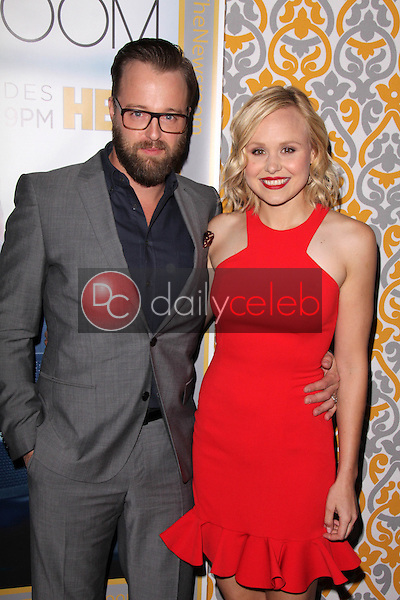 Joshua Leonard, Alison Pill<br /> at &quot;The Newsroom&quot; Season 3 Premiere, Directors Guild of America, Los Angeles, CA 11-04-14<br /> David Edwards/DailyCeleb.com 818-249-4998