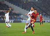 5th December 2017, Stadio Olimpic, Rome, Italy; UEFA Champions league football, AS Roma versus Qarabağ FK; Stephan El Shaarawy with a shot on goal