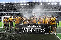 Australia win the Killik Cup match between Barbarians and Australia at Twickenham Stadium on Saturday 1st November 2014 (Photo by Rob Munro)