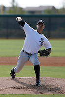 Cameron Bayne - Chicago White Sox 2009 Instructional League. .Photo by:  Bill Mitchell/Four Seam Images..