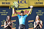 Omar Fraile (ESP) Astana Pro Team wins Stage 14 of the 2018 Tour de France running 188km from Saint-Paul-Trois-Chateaux to Mende, France. 21st July 2018. <br /> Picture: ASO/Pauline Ballet | Cyclefile<br /> All photos usage must carry mandatory copyright credit (&copy; Cyclefile | ASO/Pauline Ballet)