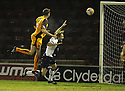 07/01/2009  Copyright Pic: James Stewart.File Name : sct_jspa02_motherwell_v_hearts.CHRIS PORTER HEAD HOME MOTHERWELL'S FIRST.James Stewart Photo Agency 19 Carronlea Drive, Falkirk. FK2 8DN      Vat Reg No. 607 6932 25.Studio      : +44 (0)1324 611191 .Mobile      : +44 (0)7721 416997.E-mail  :  jim@jspa.co.uk.If you require further information then contact Jim Stewart on any of the numbers above.........