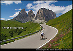 When traveling, you usually don't have the opportunity to return during better light. Strong lines and color allow you to photograph all day long, not just during the &quot;golden&quot; hours.<br />
