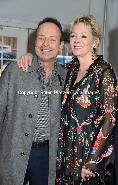 John Landgraf and Jean Smart attends FX's 2017 All-Star Upfront on  April 6, 2017 at SVA Theater in New York, New York, USA. <br /> <br /> photo by Robin Platzer/Twin Images<br />  <br /> phone number 212-935-0770