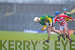 Shane Nolan Kerry Hurlers v Eoin Dillon Cork Institute Technology in the Waterford Crystal Cup at Austin Stack Park, Tralee on Saturday 15th January.