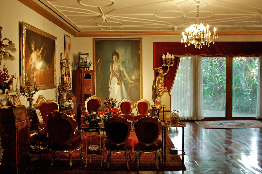 Imelda Marcos, in her House