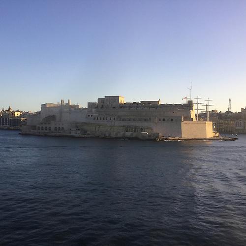 Malta Harbor in Valletta