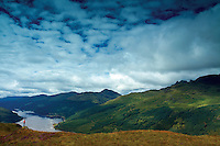 Loch Long and the Arrochar Alps from Cruach Tairbeirt, Loch Lomond and the Trossachs National Park, Argyll & Bute