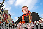 Tralee Singer Songwriter Francie Conway.   Copyright Kerry's Eye 2008