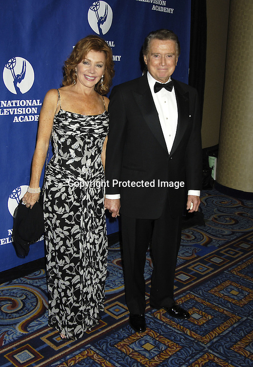 Joy Philbin and Regis Philbin ..at The National Television Academy Dinner Honoring Robert Iger on October 20, 2005 at The Marriott Marquis Hotel. ..Photo by Robin Platzer, Twin Images