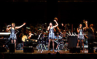 The Pointer Sisters perform with the Dallas Symphony Orchestra at the Meyerson Symphony Center at 8:53PM in Dallas, Texas, Friday, April 18, 2008. The Pointer Sisters, originally from oakland, California,  are a Grammy Award winning R&B group.  ..MATT NAGER/SPECIAL CONTRIBUTER