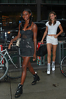 NEW YORK, NY - AUGUST 29:  Zuri Tibby and Grace Elizabeth attend fittings for the Victoria's Secret 2017 Fashion Show on August 29, 2017 in New York City. Credit: DC/Media Punch