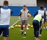14.08.2019 Rangers training: Steven Gerrard