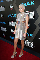 UNIVERSAL CITY, CA - August 28: Serinda Swan, At Premiere Of ABC And Marvel's 'Inhumans' At Universal City Walk In California on August 28, 2017. Credit: FS/MediaPunch