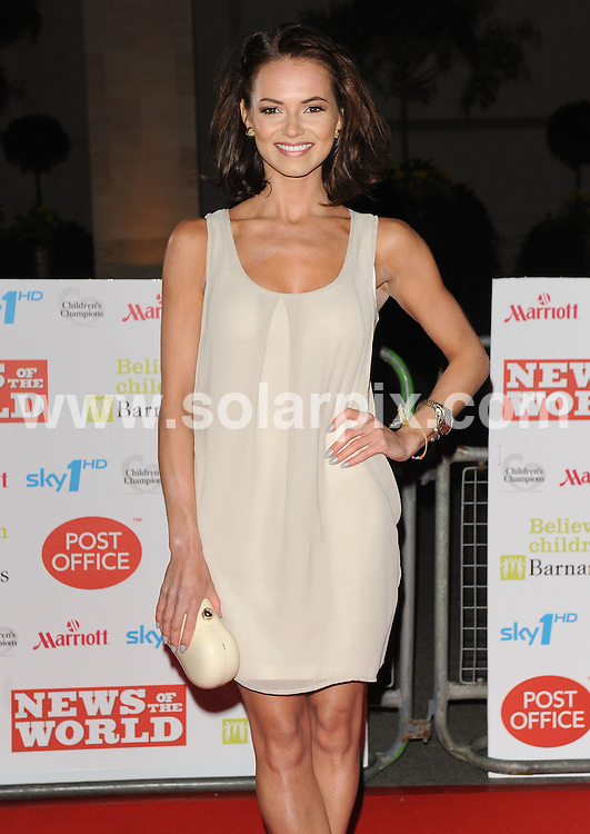 **ALL ROUND PICTURES FROM SOLARPIX.COM**.**WORLDWIDE SYNDICATION RIGHTS**.Red carpet arrivals at Children's Champions..Held at The Grosvenor House Hotel, Mayfair, London, on Wednesday March 03, 2010...This pic: Kara Tointon..JOB REF:10839 SSD     DATE: 03_03_2010.**MUST CREDIT SOLARPIX.COM OR DOUBLE FEE WILL BE CHARGED**.**MUST NOTIFY SOLARPIX OF ONLINE USAGE**.**CALL US ON: +34 952 811 768 or LOW RATE FROM UK 0844 617 7637**