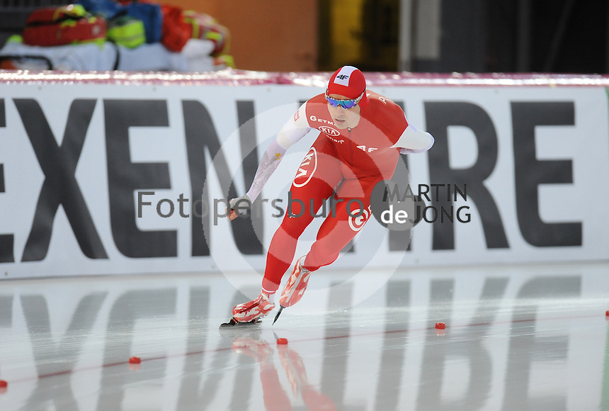 SPEED SKATING: HAMAR: Vikingskipet, 04-03-2017, ISU World Championship Allround, 5000m Men, Jan Szymanski (POL), ©photo Martin de Jong