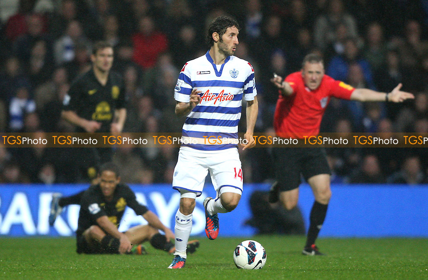 Esteban Granero of QPR - Queens Park Rangers vs Everton, Barclays Premier League at Loftus Road - 21/10/12 - MANDATORY CREDIT: Rob Newell/TGSPHOTO - Self billing applies where appropriate - 0845 094 6026 - contact@tgsphoto.co.uk - NO UNPAID USE.