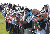 28th September 2017, Windross Farm, Auckland, New Zealand; LPGA McKayson NZ Womens Open, first round;  Fans and supporters on the 18th fairway