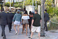 www.acepixs.com<br /> <br /> January 14 2017, Miami<br /> <br /> President Barrack Obama's daughter Sasha Obama (C) walks with friends on the beach on January 14 2017 in Miami Beach.<br /> <br /> By Line: Solar/ACE Pictures<br /> <br /> ACE Pictures Inc<br /> Tel: 6467670430<br /> Email: info@acepixs.com<br /> www.acepixs.com