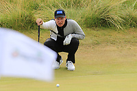 Mikko Ilonen (FIN) on the 13th green during Thursday's Round 1 of the 2018 Dubai Duty Free Irish Open, held at Ballyliffin Golf Club, Ireland. 5th July 2018.<br /> Picture: Eoin Clarke | Golffile<br /> <br /> <br /> All photos usage must carry mandatory copyright credit (&copy; Golffile | Eoin Clarke)