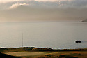 Nefyn & District Golf Club, Nefyn, Gwynedd, Wales. Picture Credit / Phil Inglis. <br /> <br />  A unique 26 hole championship golf course with a view of the sea from every tee. Eight holes are played on the now world-famous 'Point', a narrow peninsula with tees, fairways and greens bounded by coves and inlets on one side and sandy beaches and a friendly pub on the edge of the 16th green on the other!